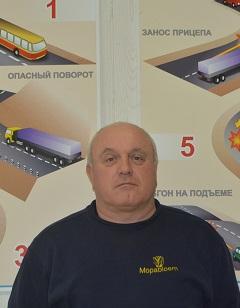 Kasirin Aleksandr Alekseevic- instruktor po vozdeniu